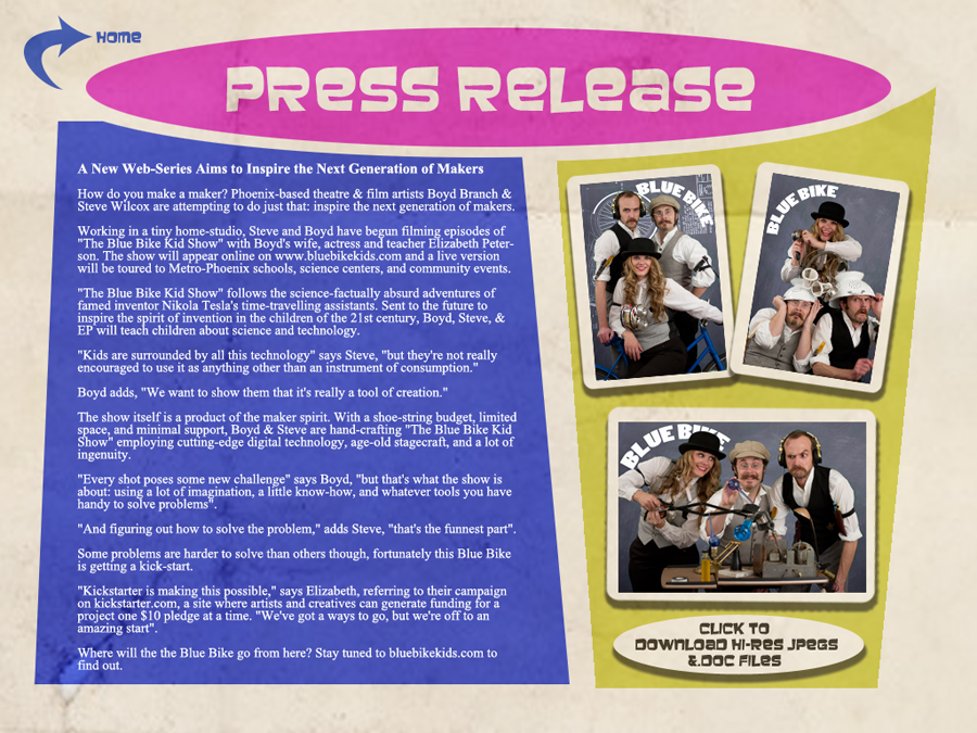Blue Bike Press Releases